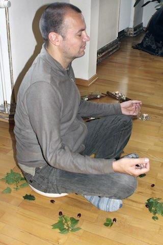 """Kraftplatz-Meditation im Workshop """"Das Innere Kind - Verlieb dich in dich selbst!"""""""